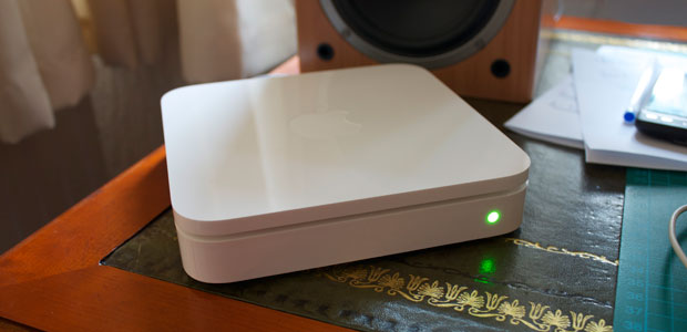 green light apple airport extreme