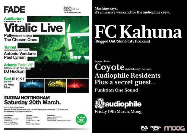vitalic and fc kahuna in nottingham